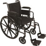 Probasics K3 Lightweight Wheelchair w/ Flip Back Arms