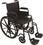Probasics K1 Wheelchair w/ Flip Back Arms