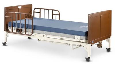 G5510 Bed with Half Rails G30 & Mattress