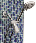Deluxe Hand Held Shower Head 12041 by Lumex