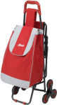 Drive Deluxe Rolling Shopping Cart with Seat 607R