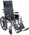 Chrome Sport Full Reclining Wheelchair by Drive