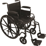 Probasics K2 Dual Axle Wheelchair w/ Flip Back Arms