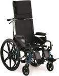 Invacare 9000 Jymni Recliner Wheelchair w/ Legrests