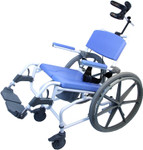 EZee Life Tilting Rehab Shower Wheelchair 155-22 190-24 195-24