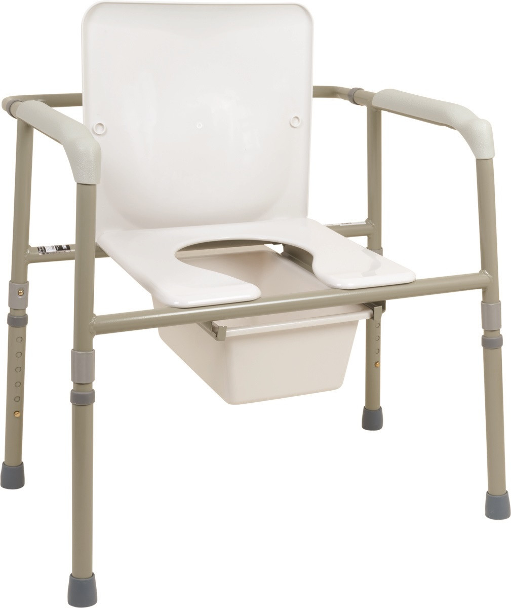 release date: d86f6 3507e Probasics Heavy Duty Commode Extra Wide Bedside Chair