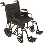 Probasics Bariatric Steel Transport Chair TCS221612SV