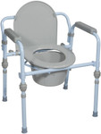 Drive Folding Commode Chair RTL11148KDR