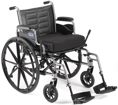 Seat cushion, brake extensions and rear anti-tippers sold separately