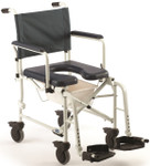 Invacare Mariner Rehab Shower Commode Chair w/ 5'' Casters 6891