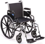 Tracer SX5 with desk length arms and footrests