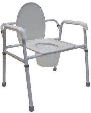 Extra Wide 3 In 1 Commode Chair M450 By Tuffcare