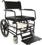 Heavy Duty Rolling Commode Shower Chair 720 by ActiveAid