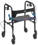 "Clever-Lite Walker Rollator with 5"" Wheels 10230 by Drive"