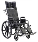 Sentra Extra Wide Full Reclining Wheelchair STD22RBDDA by Drive