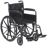 Drive Silver Sport 1 Manual Wheelchair SSP118FA-SF