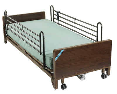 Shown with Innerspring Mattress and Full Length Bed Rails
