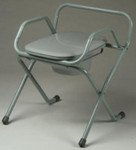 TFI SpaceSaver Foldable Commode with Elongated Seat 3220G