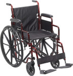 Rebel Compact Folding Wheelchair RTLREB18DDA-SF by Drive