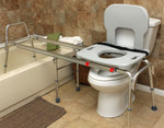 Eagle Health Toilet to Tub Sliding Transfer Bench 77963 77983 77993