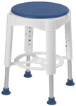 Swivel Padded Bath Stool w/ Rotating Seat RTL12061 by Drive
