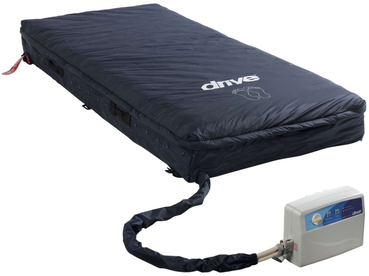 Med Aire 8 Essential Alternating Pressure Low Air Loss Mattress System