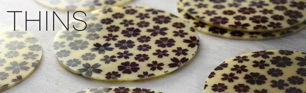 Chatlotte Flower Chocolates Thins