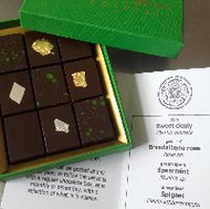 Dairy-free seasonal selection 9 chocolates