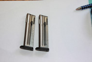 Two (2) Walther P22 10 Round .22LR Magazines.