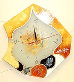 Sculpture Gold Sands Clock