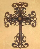 Cross with Forged Decoration #A3
