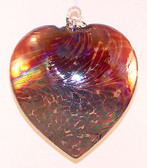 "Abalone Heart, ""Garnet Red"""