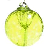 Small Witch Ball Lemon Yellow