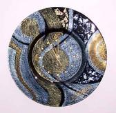 Glass Clock Celestial