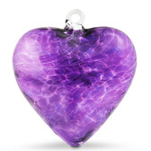 Large Heart Purple