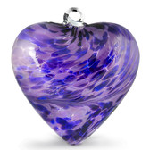 "Large Heart ""Hyacinth"""