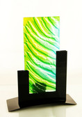 Metro Tealight Candle Holder Green
