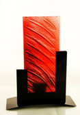 Metro Tealight Candle Holder Red