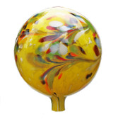 Over Opal Yellow Gazing Ball