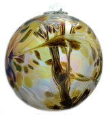 "XL Witch Ball ""Bronz"" (Iridized)"