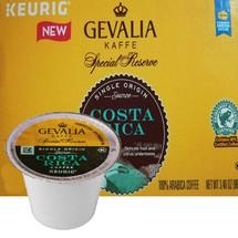 Gevalia Kaffe Costa Rica Coffee K-Cup® Pod. Delicate fruit and citrus undertones. Compatible with most single cup brewers including Keurig & Keurig 2.0.