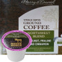 Harry & David Northwest Blend Hazelnut, Praline and Cinnamon Coffee Single Cup. Made from 100% Arabica beans and featuring smooth notes of hazelnut, praline, and cinnamon, Compatible with all single serve brewers, including Keurig® and Keurig® 2.0.