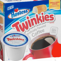 Hostess Twinkies Coffee Single Cup. Enjoy the sweet flavor of Twinkies sponge cake combined with notes of creamy vanilla filling. Compatible with most single cup brewers including Keurig and Keurig 2.0.