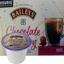 Baileys Chocolate Cherry Coffee K-Cup® Pod. Compatible with most or all single cup brewers including Keurig® and Keurig® 2.0.