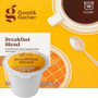 Good & Gather Breakfast Blend Coffee Single Cup. Smooth and Crisp, invigorating and mildly sweet. Compatible with all single cup brewers, including Keurig and Keurig 2.0.