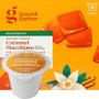 Good & Gather Caramel Macchiato DECAF Coffee Single Cup. Sweet, buttery caramel with creamy notes and hints of vanilla. Compatible with all single cup brewers, including Keurig and Keurig 2.0.