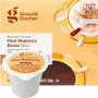 Good & Gather Hot Buttery Rum Coffee Single Cup. Butter and rum with notes of sweet caramelized sugar. Compatible with all single cup brewers, including Keurig and Keurig 2.0.