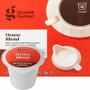 Good & Gather House Blend Coffee Single Cup. Sweet caramel with milk chocolate notes and a well-rounded body. Compatible with all single cup brewers, including Keurig and Keurig 2.0.