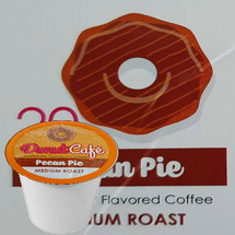 Copper Moon Donut Cafe Pecan Pie Coffee Single Cup. Compatible with all single serve brewers, including Keurig® and Keurig® 2.0.