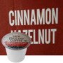 New England Coffee Cinnamon Hazelnut Coffee K-Cup® Pod. Compatible with most or all single cup brewers including Keurig® and Keurig® 2.0.